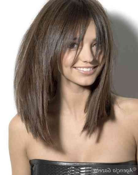 Pin On Hair pertaining to Round Bob Hairstyles With Front Bang