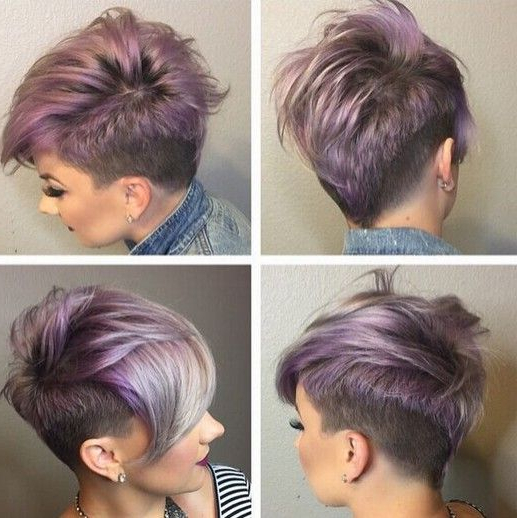 Pin On Hair Style's ! With Pastel Pixie Haircuts With Curly Bangs (View 8 of 25)