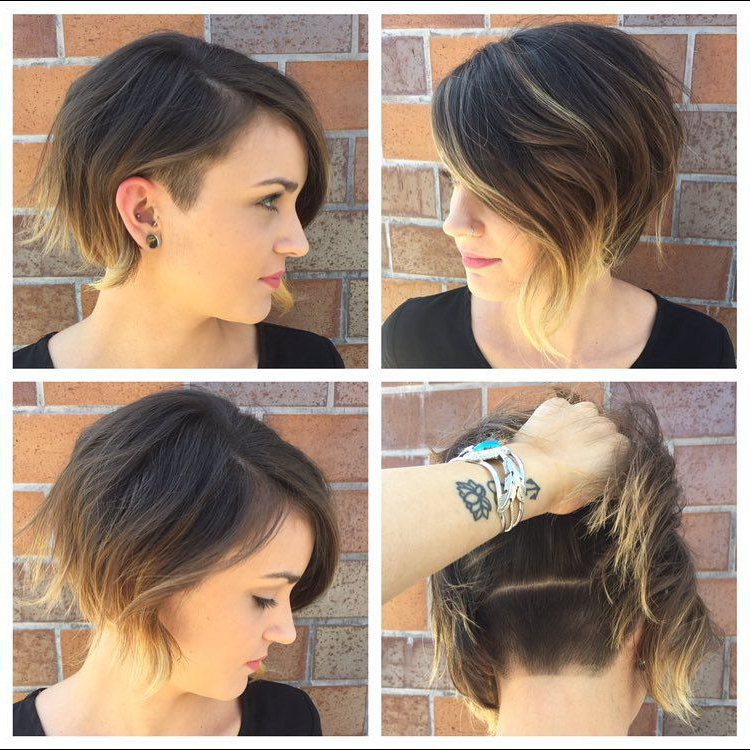 Pin On Hair Throughout Wavy Asymmetric Bob Hairstyles With Short Hair At One Side (View 2 of 25)