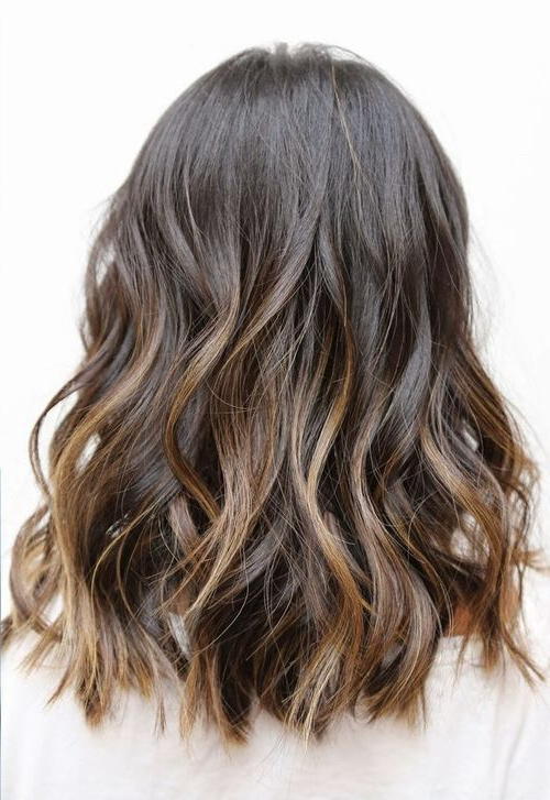 Pin On Hair with Black To Light Brown Ombre Waves Hairstyles