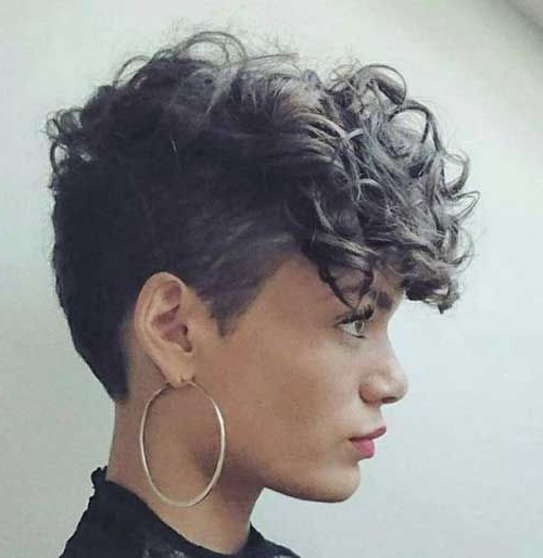 Pin On Hair with Cute Curly Pixie Hairstyles