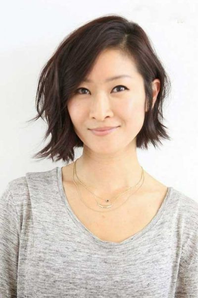 Pin On Hair With Regard To Asymmetrical Bob Asian Hairstyles (View 12 of 25)