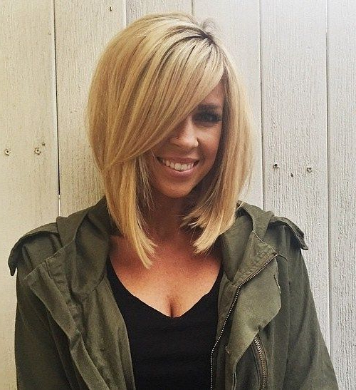 Pin On Hair within Blonde Bob Haircuts With Side Bangs