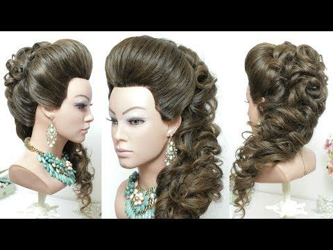 Pin On Hair within Side Hairstyles With Puff And Curls