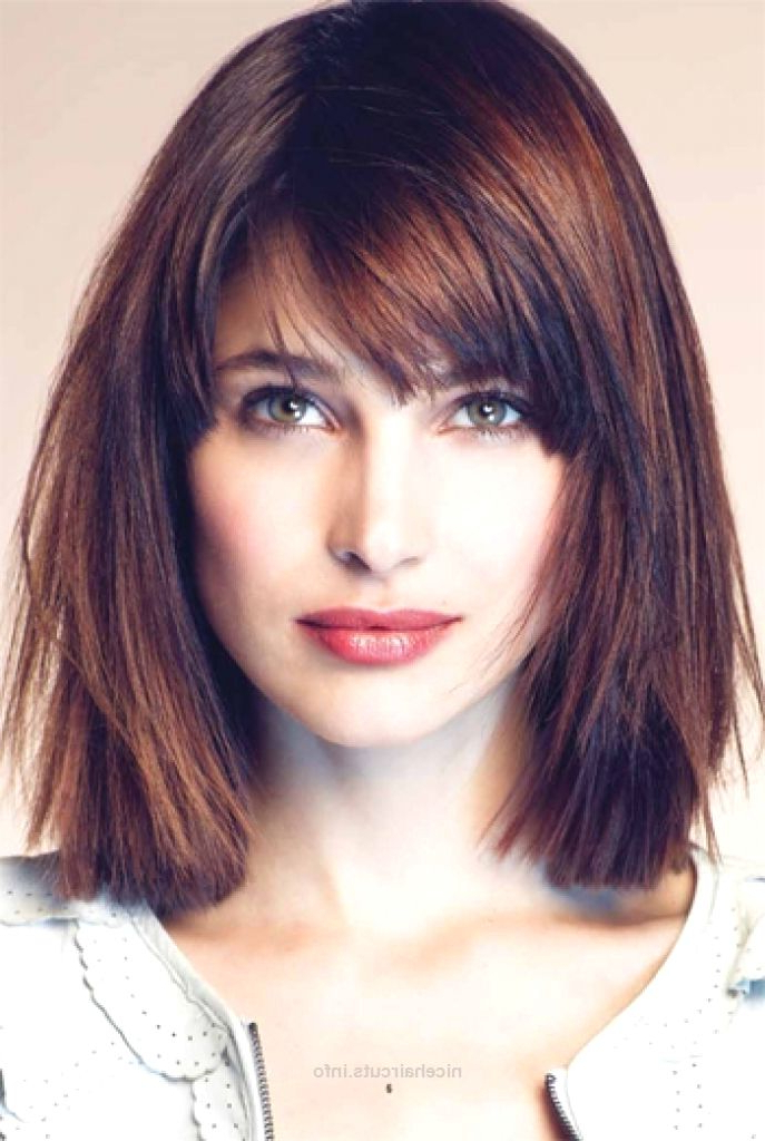 Pin On Haircuts To Die For regarding Shoulder-Length Bob Hairstyles With Side Bang