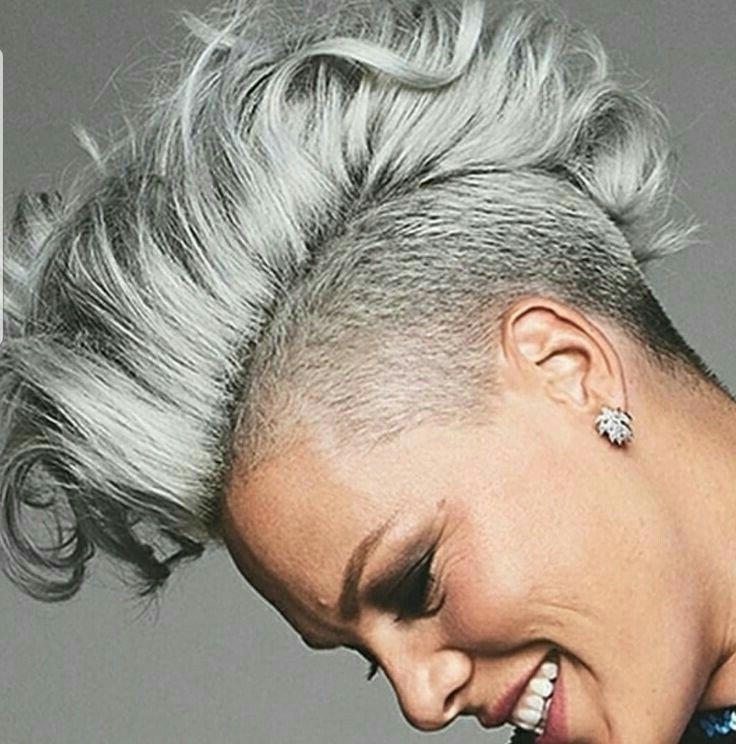 Pin On Hairfabulous inside Short Hair Inspired Mohawk Hairstyles