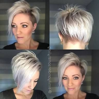 Pin On Hairstyles with regard to Asymmetrical Pixie Haircuts