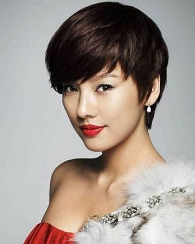 Pin On Heidi – Hair Within Messy Pixie Asian Hairstyles (View 7 of 25)