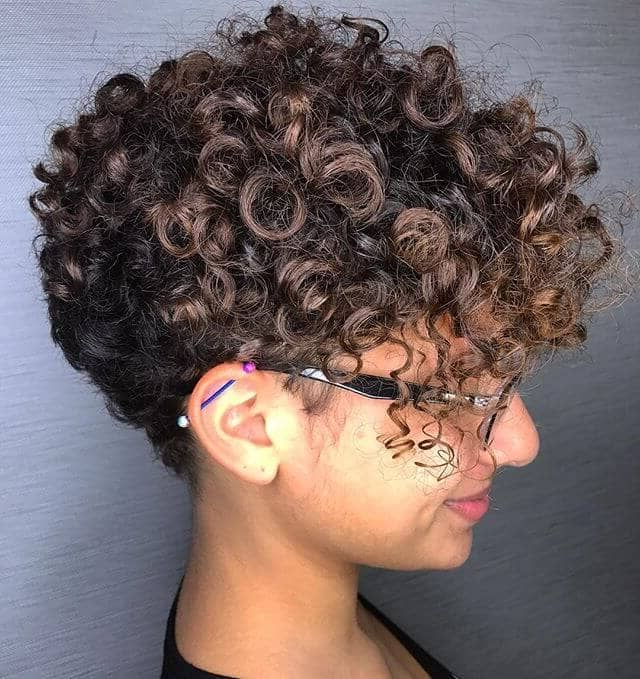 Featured Photo of Pixie Haircuts With Tight Curls