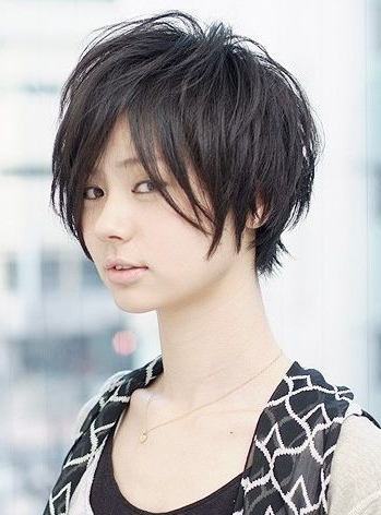 Pin On Pixie Tomboy Ki?u Tóc V??t Th?i Gian Korigami 0915804875 For Boyish Shag Asian Hairstyles (View 3 of 25)