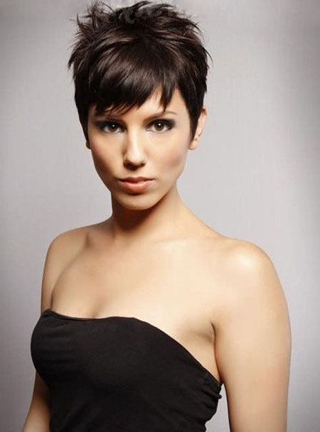 Pin On Sexy Short Hair Styles throughout Chic And Elegant Pixie Haircuts