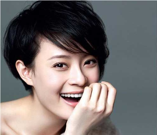 Pin On Short Hairstyle Pertaining To Messy Pixie Asian Hairstyles (View 6 of 25)