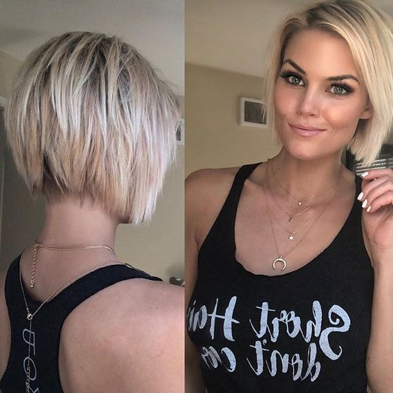 Pin On Short Hairstyles inside Smart Short Bob Hairstyles With Choppy Ends