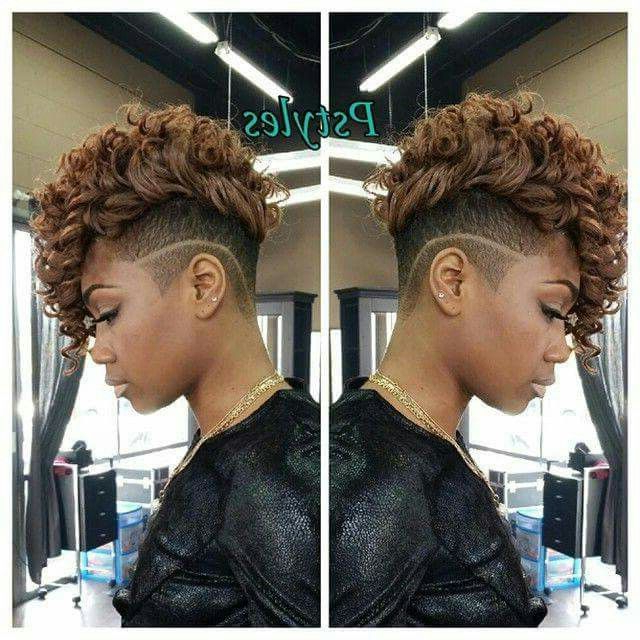 Pin On The Mane with regard to Shaved Short Hair Mohawk Hairstyles