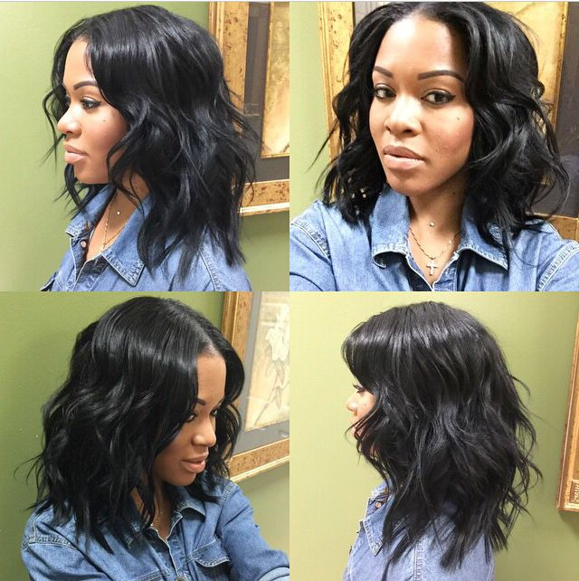 Pin On Two Faced pertaining to Simple Loose Black Waves Hairstyles