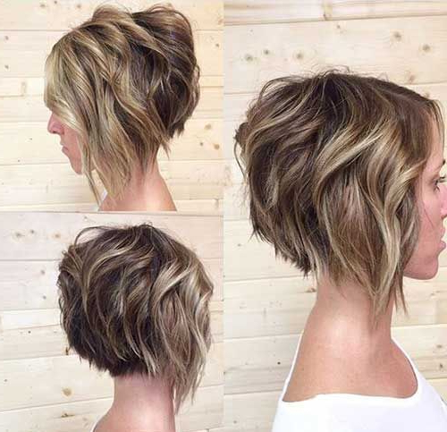 Pin On Vanity with Very Short Stacked Bob Hairstyles With Messy Finish