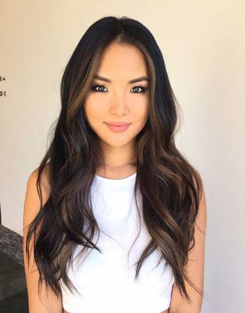 Pinana Ungureanu On Hair Style Ideas In 2019 | Hair throughout Soft Ombre Waves Hairstyles For Asian Hair