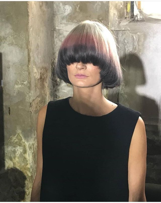Pinjustin Shaquille On Bangs Covering Both Eyes/blinding Intended For Eye Covering Bangs Asian Hairstyles (View 2 of 25)