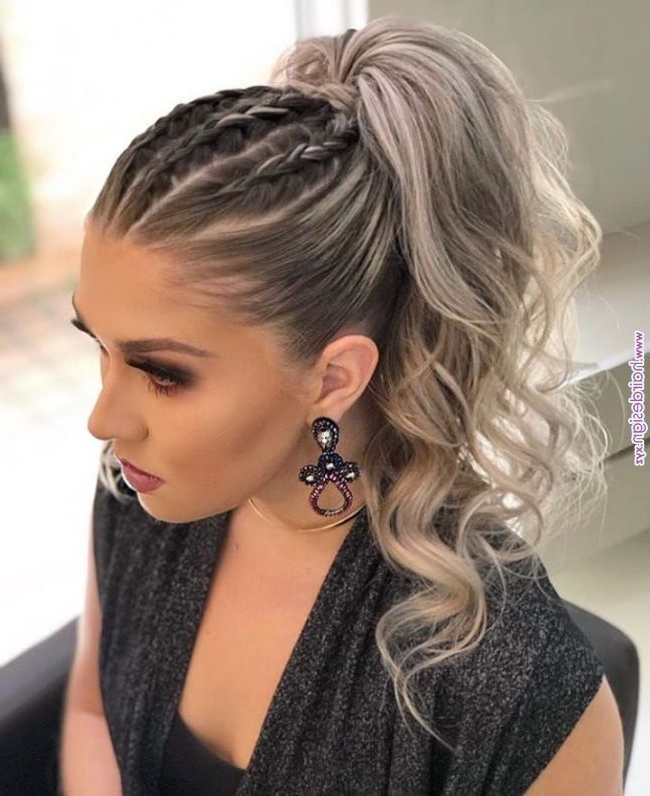 Pinkaitlyn Stauffacher On Hair In 2019 | Long Hair inside High Long Ponytail Hairstyles With Hair Wrap