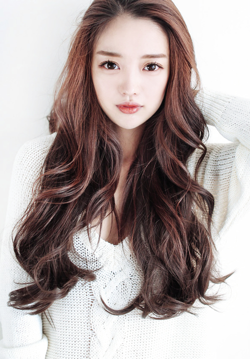 Pinliang Neon On Riveting Pictures | Asian Hair, Ulzzang inside Neon Long Asian Hairstyles