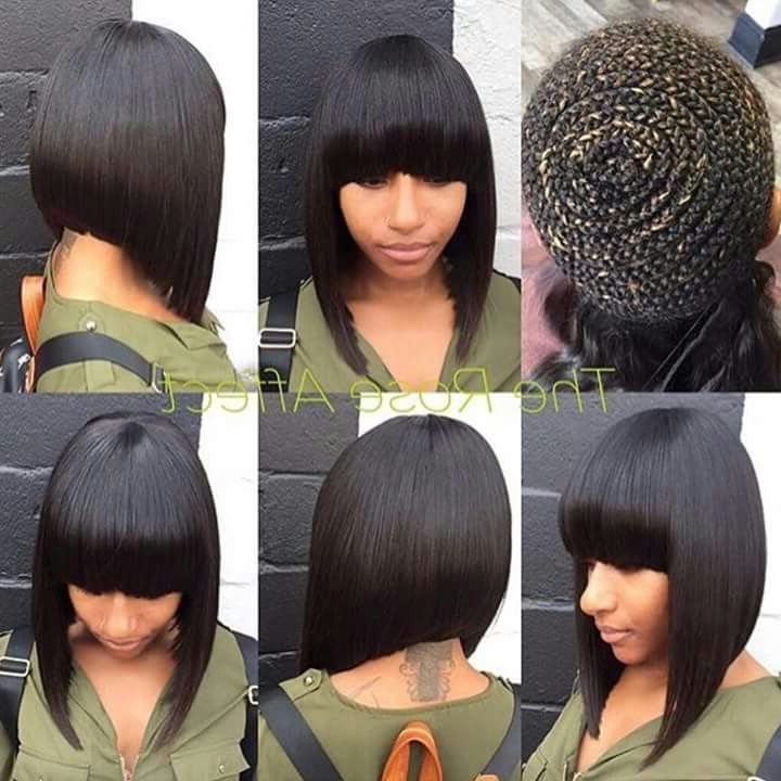 Pinrhonda Gaynor On It's Just Hair!!!!!!!!!!!!!! In 2019 regarding Sweet And Adorable Chinese Bob Hairstyles