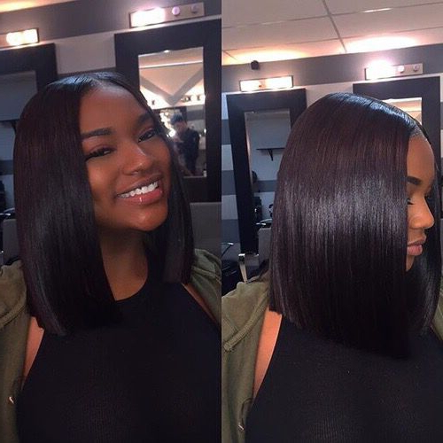 Pinterest: @debbiexo | Hair, Human Hair Wigs, Wig Hairstyles intended for Blunt Wavy Bob Hairstyles With Center Part