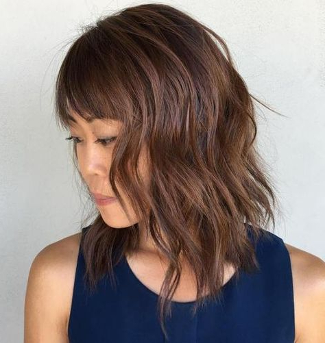 Pinterest Inside Modern Shaggy Asian Hairstyles (View 7 of 25)