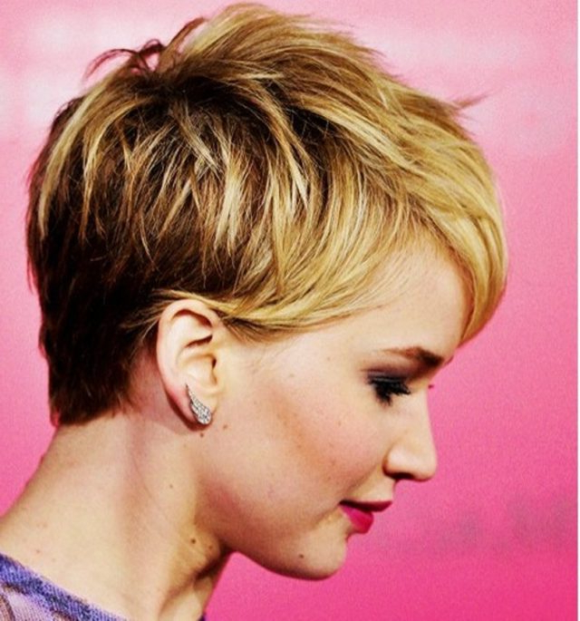 Pixie Cuts: 13 Hottest Pixie Hairstyles And Haircuts For Women throughout Trendy Pixie Haircuts With Vibrant Highlights