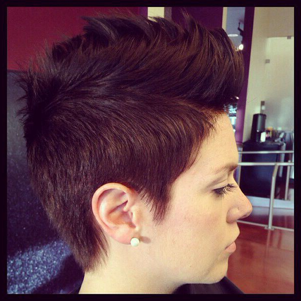 Pixie Faux Hawk I'm So Tempted To Get This! In 2019 in Pixie Faux Hawk Haircuts