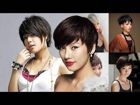 Pixie Short Hair Styles And Haircuts For Asian Women The intended for Boyish Shag Asian Hairstyles