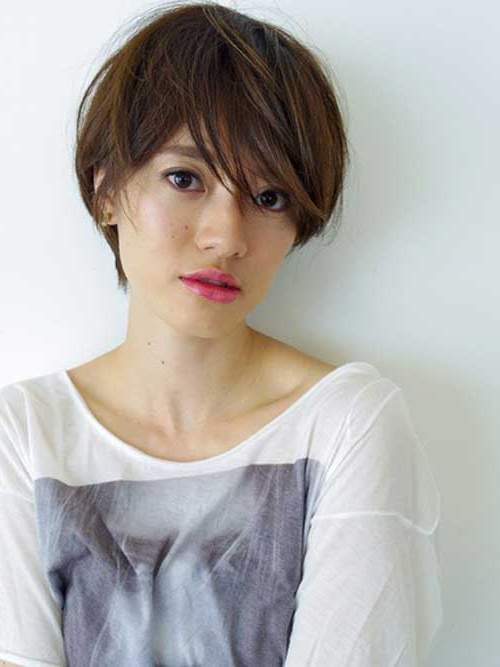 Popular Asian Short Hairstyles Intended For Messy Pixie Asian Hairstyles (View 12 of 25)