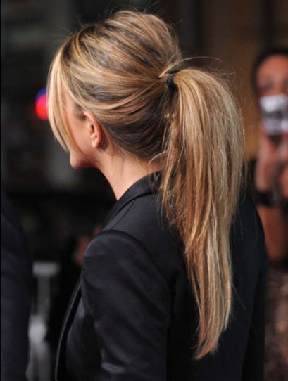 Pretty Ponytail Hairstyles For Long And Medium Hair Inside Messy High Ponytail Hairstyles With Teased Top (View 8 of 25)