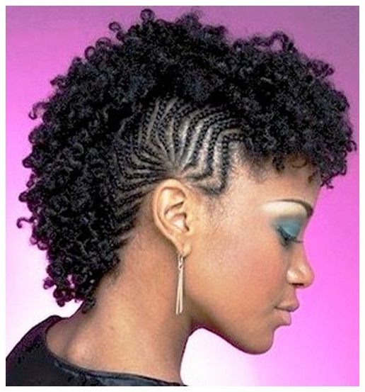 Protective Hairstyles For Natural Hair | Natural Hair Mohawk pertaining to Natural Curls Mohawk Hairstyles