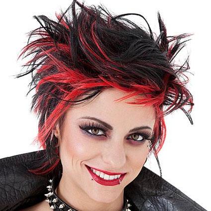 Punk Hair Styles | Lovetoknow for Rocker Girl Mohawk Hairstyles