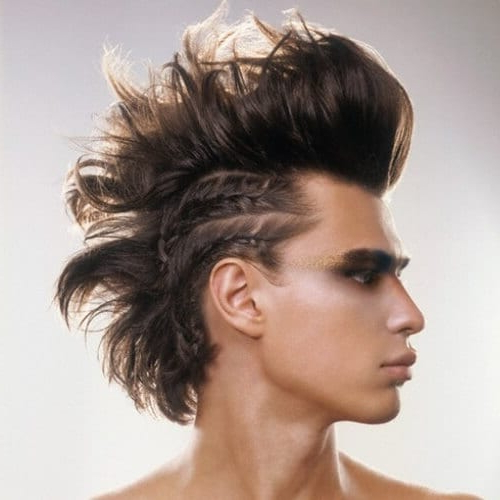 Punk Hairstyles Aren't Dead: Check These 50 Ways To Wear pertaining to Blonde Teased Mohawk Hairstyles