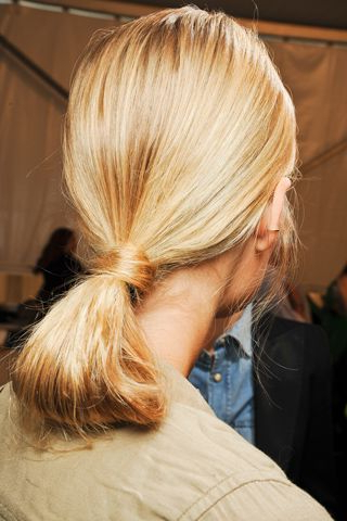 Really Cute Ponytail Style: Pull Halfway Through, Fluff The Inside High Looped Ponytail Hairstyles With Hair Wrap (View 23 of 25)