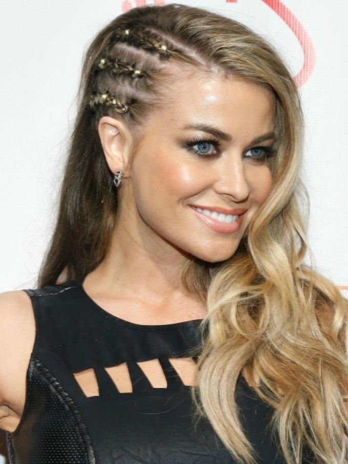 Related Image   Prom Hairstyles For Long Hair, Braided With Mermaid Waves Hairstyles With Side Cornrows (View 3 of 25)