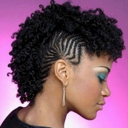 See 50 Ways You Can Rock Braided Mohawk Hairstyles | Hair Inside Twisted Braids Mohawk Hairstyles (View 25 of 25)