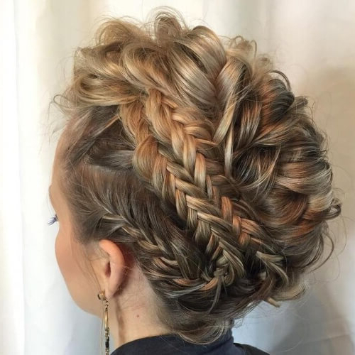 See 50 Ways You Can Rock Braided Mohawk Hairstyles | Hair Intended For Braided Mohawk Bun Hairstyles (View 9 of 25)