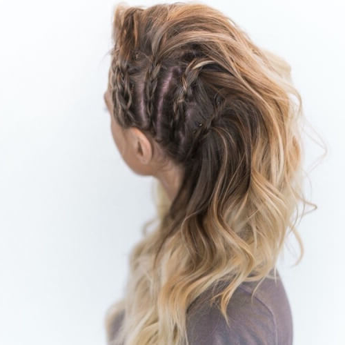 See 50 Ways You Can Rock Braided Mohawk Hairstyles | Hair Within Braided Faux Mohawk Hairstyles For Women (View 18 of 25)