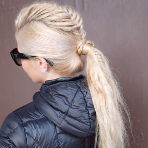 See 50 Ways You Can Rock Braided Mohawk Hairstyles | Hair Within Ponytail Mohawk Hairstyles (View 22 of 25)