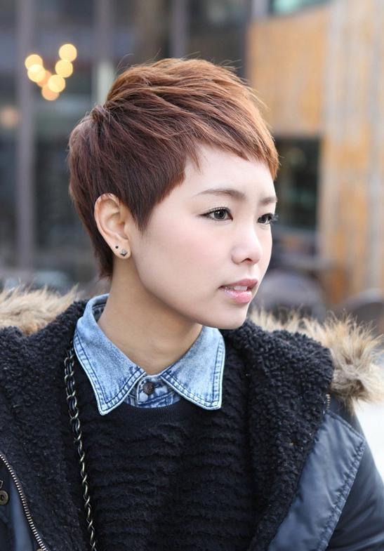 Sharp & Sexy 'rihanna' Pixie Cut – Boyish Asian Haircut For With Regard To High Pixie Asian Hairstyles (View 12 of 25)