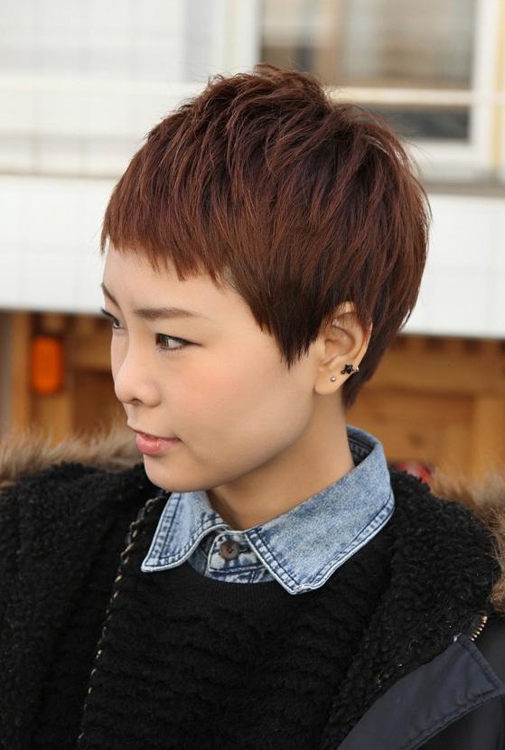 Sharp & Sexy 'rihanna' Pixie Cut – Boyish Asian Haircut For With Regard To High Pixie Asian Hairstyles (View 11 of 25)