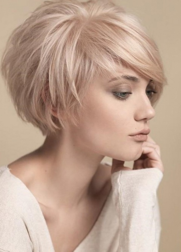 Short Bob Hairstyles – Stylish And Practical Haircuts Ideas Throughout Hort Bob Haircuts With Bangs (View 16 of 25)