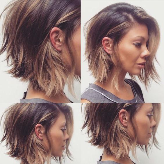 Short Sassy Bob Haircuts   Hair Styles I Adore   Cabello With Regard To Edgy Textured Bob Hairstyles (View 23 of 25)