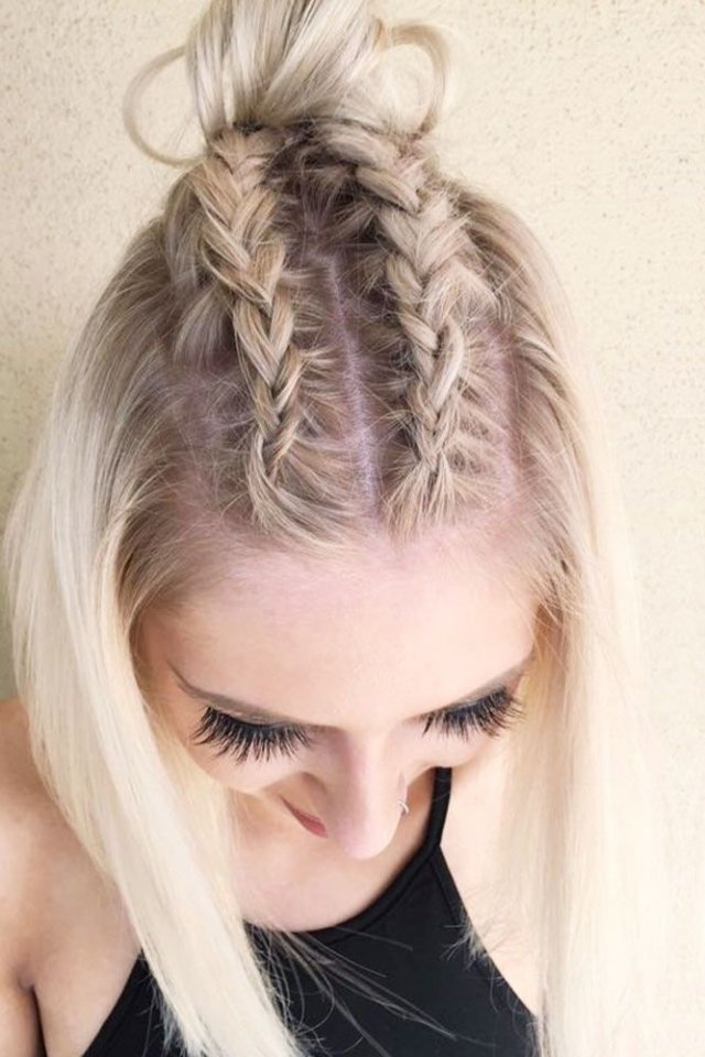Shoulder Length Hair Braiding: 15+ Easy To Use Instructions Pertaining To Braided Shoulder Length Hairstyles (View 10 of 25)