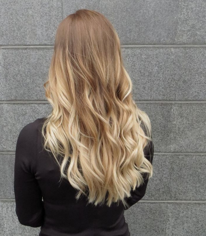 Silver And Blonde Ombre Hairstyles Regarding Ash Bronde Ombre Hairstyles (View 20 of 25)