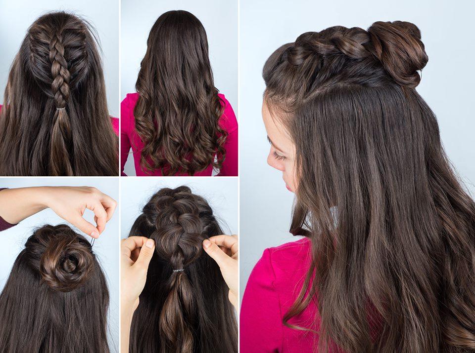 Simple Diy Style: Braided Mohawk Bun – Salon Adrian Throughout Braided Mohawk Bun Hairstyles (View 12 of 25)