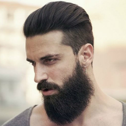 Slick Back Hair: 50 Styling Ideas – Men Hairstyles World Inside Long Hairstyles With Slicked Back Top (View 10 of 25)