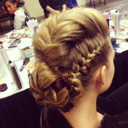 Sophisticated Braided Mohawk Hairstyle. (View 2 of 25)